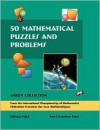 50 Mathematical Puzzles and Problems: Green Collection: From the International Championship of Mathematics Federation Francaise Des Jeux Mathematiques - Gilles Cohen