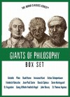 The Giants of Philosophy Boxed Set - Thomas C. Brickhouse, Charlton Heston, Berel Lang, Kenneth L. Schmitz, John J. Stuhr, R.J. O'Connell