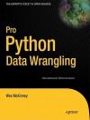 Pro Python Data Wrangling - Wes McKinney