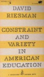 Constraint and Variety - David Riesman