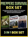 Preppers Survival Box Set: 75 Super Easy Survival Tricks to Get You Ready for a Disaster in Dangerous Situations And in An Urban Environment (Preppers ... survival books, preppers survival guide) - Ashely Hall, Glen White