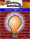 Thinking Activities: Centers Through the Year Grades 1-3 (Hands-On) - Jo Ellen Moore