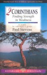2 Corinthians: Finding Strength in Weakness (Lifeguide Bible Studies) - Paul Stevens