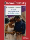 A Real Engagement - Marjorie Lewty