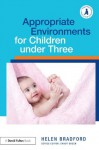 Appropriate Environments for Children Under 3 (Supporting Children from Birth to Three) - Helen Bradford