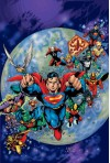 JLA: The Deluxe Edition Vol. 4 - Grant Morrison, Howard Porter, John Dell, Drew Geraci, Ed McGuinness, Dexter Vines, Frank Quitely