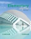 Elementary Algebra plus MyMathLab/MyStatLab Student Access Code Card (3rd Edition) - Tom Carson, Bill E. Jordan