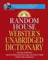 Random House Webster's Unabridged Dictionary and CD-ROM - Dictionary