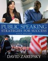 Myspeechlab with Pearson Etext -- Standalone Access Card -- For Public Speaking - David Zarefsky