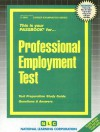 Professional Employment Test - National Learning Corporation