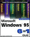 Microsoft Windows 95 6 in 1 - Jane Calabria, Dorothy Burke, Laurie Ann Ulrich Fuller