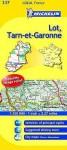 Michelin Map France: Lot, Tarn-Et-Garonne 337 - Michelin Travel Publications