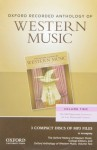 Oxford Recorded Anthology of Western Music: Volume Two: The Mid-Eighteenth Century to the Late Nineteenth Century 3 CDs - Richard Taruskin, Christopher H Gibbs