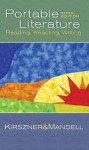 Literature: Reading, Reacting, Writing, Portable Edition (with Lit21 CD-ROM) - Laurie G. Kirszner, Stephen R. Mandell