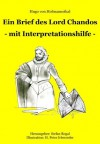Ein Brief des Lord Chandos: - mit Interpretationshilfe - (German Edition) - Hugo von Hofmannsthal