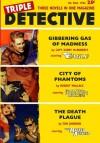 Triple Detective #4 (Fall 1956) - Tom Johnson, Capt. Kerry McRoberts, Robert Wallace, Matthew Moring