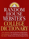Random House Webster's College Dictionary - Robert B. Costello