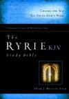 The Ryrie KJV Study Bible Hardcover Red Letter (Ryrie Study Bibles 2008) - Charles C. Ryrie