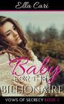 Baby for a Billionaire (Vows of Secrecy Book 3) - Ella Cari