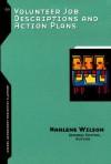 Volunteer Job Descriptions and Action Plans - Marlene Wilson