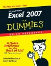 Excel 2007 for Dummies Quick Reference - John Walkenbach, Colin Banfield