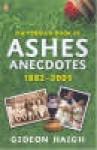 The Book of Ashes Anecdotes - Gideon Haigh