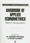 Handbook Of Applied Econometrics - M. Hashem Pesaran, Peter Schmidt