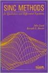 Sinc Methods For Quadrature And Differential Equations - John Lund