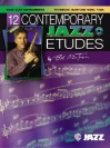 12 Contemporary Jazz Etudes: Bass Clef Instruments, Book & CD - Bob Mintzer
