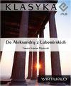 Do Aleksandry z Lubomirskich - Tomasz Kajetan Węgierski