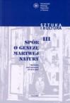 Spór o genezę martwej natury. Materiały sesji naukowej 25-26 X 2001 - Sebastian Dudzik, Tadeusz J. Żuchowski