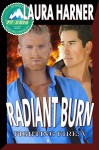 Radiant Burn (Fighting Fire Book 5) - Laura Harner, Jae Ashley