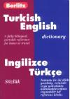 Berlitz Turkish-English Dictionary/Ingilizce-Turkce Sozluk - Berlitz Publishing Company