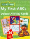 Sesame Street My First ABCs Deluxe Activity Cards - Bob Berry