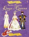 Sticker Dressing: Kings & Queens (Usborne Sticker Dressing) - Ruth Brocklehurst, Anne Millard, Nellie Ryand, Jo Moore