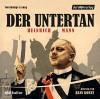 Der Untertan - Der Hörverlag, Heinrich Mann, Hans Korte