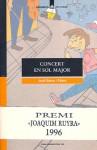 Concert en Sol Major - Jordi Sierra i Fabra