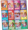 Rosie Banks Secret Kingdom 12 Books Collection Pack Set RRP: £59.88 Enchanted Palace, Unicorn Valley, Cloud Island, Mermaid Reef, Magic Mountain, Glitter Beach, Bubble Volcano, Sugarsweet Bakery, Lily-pad Lake, ale Forest - Rosie Banks