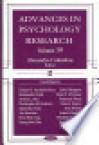 Advances in Psychology Research, Volume 39 - Alexandra M. Columbus
