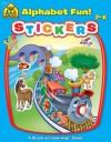 Alphabet Fun! Sticker Workbook (Stuck on Learning) - Joan Hoffman, Robin Boyer