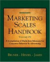 Marketing Scales Handbook, Volume IV: Consumer Behavior - Karen E. James