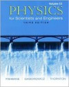 Physics for Scientists and Engineers, Volume 3 (Ch. 39-45) - Paul M. Fishbane, Stephen Gasiorowicz, Stephen T. Thornton