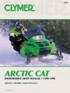 Arctic Cat Snowmobile Shop Manual, 1990-1998 - Clymer Publishing
