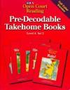 Pre-Decodable Takehome Books (SRA Open Court Reading, Level A, Set 2) - SRA/McGraw Hill