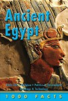 1000 Facts Ancient Egypt - Miles Kelly