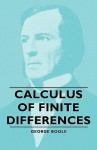 Calculus of Finite Differences - George Boole