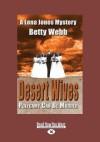 Desert Wives: A Lena Jones Mystery (Large Print 16pt) - Betty Webb
