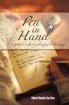 Pen in Hand - Ethard Wendel Van Stee