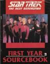 Star Trek The Next Generation : First Year Sourcebook - Blaine Pardo