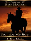 Promise Me Eden (The Cowboys of Black Mountain) - D'Ann Lindun
